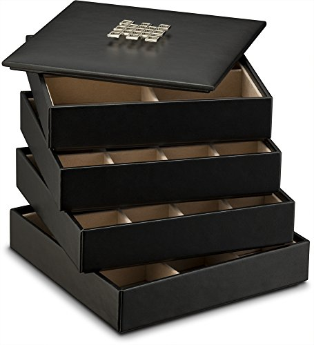 earring-organizer-tray-4-stackable-trays-with-lid-45-slot-classic-jewelry-storage-display-case-for-d