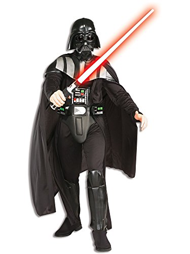 Rubie's Star Wars Darth Vader Deluxe Adult, Black,
