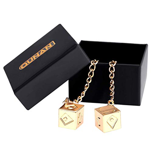 CASTELBELBO Han's Dice Lucky Charm Golden Dice Pendant for Han Solo and Qira ¡ ()