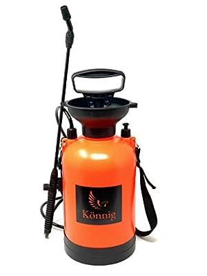 Pump Action Pressure Sprayer with BONUS a Pair of Garden Gloves