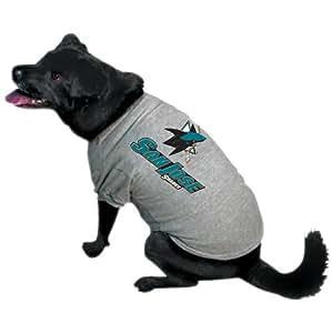 NHL San Jose Sharks Pet T-Shirt, Team Color, X-Large