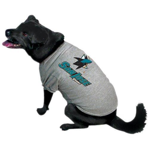 Hunter Mfg. LLP NHL San Jose Sharks Pet T-Shirt, Team Color, Medium