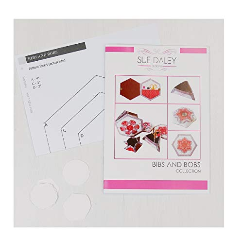 Sue Daley Designs Bibs and Bobs Collection Pattern EPP English Paper Piecing Starter Kit Patchwork Sewing