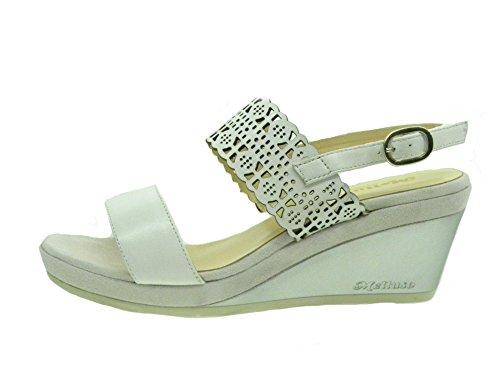 Donna R70503 Zeppa con MELLUSO Bianco E0207 Sandalo 0IxwIqz