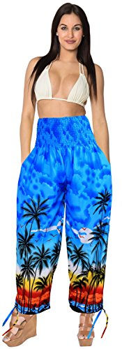 ankle-length-lounge-wear-palazzo-pants-elastic-waist-beachwear-wear-pull-on-blue-spring-summer-2017