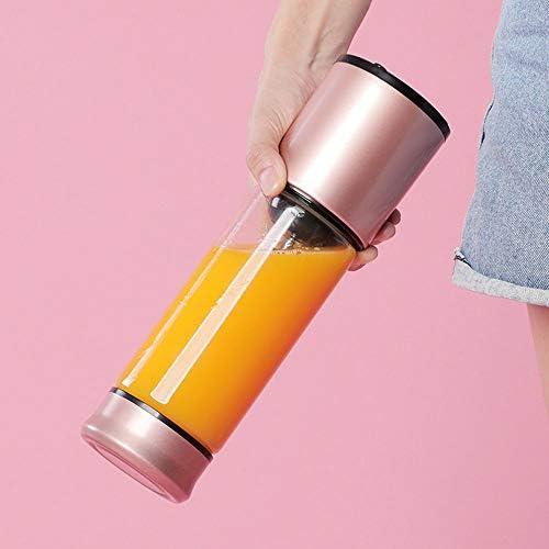 kMOoz Mini Taza de Jugo, Taza De Jugo De Acero Inoxidable Pequeña Taza De Jugo Eléctrico Portátil Diosa Regalos Imprescindibles Adecuado para Uso En La Cocina