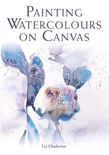 Watercolor Original Painting - Painting Watercolours on Canvas