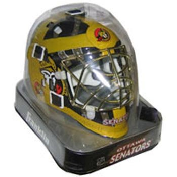 Franklin Ottawa Senators Mini Goalie Mask – DiZiSports Store