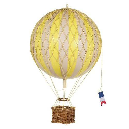 Authentic Models Floating the Skies Hot Air Balloon Replica, Color: Yellow (Hot Model compare prices)