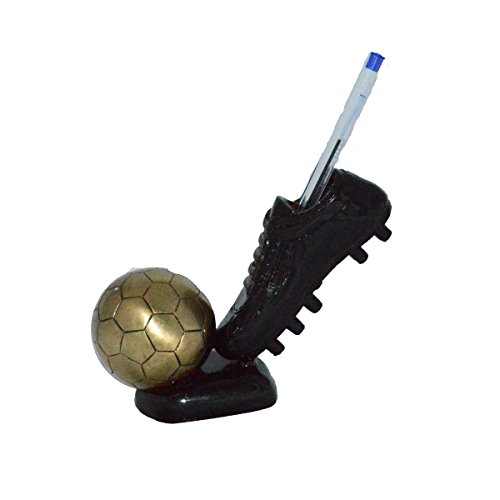eCraftIndia Decorative Soccer Ball and Shoe Brass Tableware by eCraftIndia
