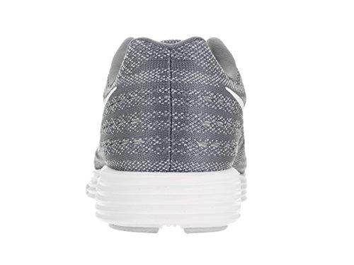 Nike Lunartempo 2 Cool Grijs / Wit / Puur Platina / Zwart Heren Hardloopschoenen Maat 8.5