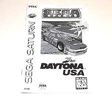 Daytona USA User's Manual for Sega Saturn (Instruction Booklet Only - No Game Disc)