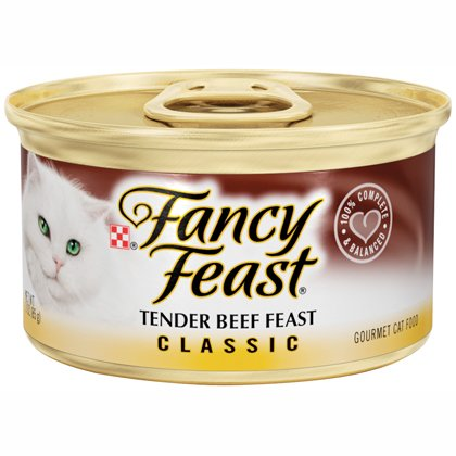 Fancy Feast Classic Tender Beef Feast 24/3oz