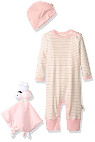 Burt's Bees Baby Baby Cozytime Organic Layette Gift Set, Cherry Blossom, 12 Months
