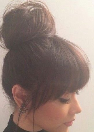 Amazon.com: THICK CLIP IN ON FRINGE BANGS WITH SIDE FACE FRAMING ...