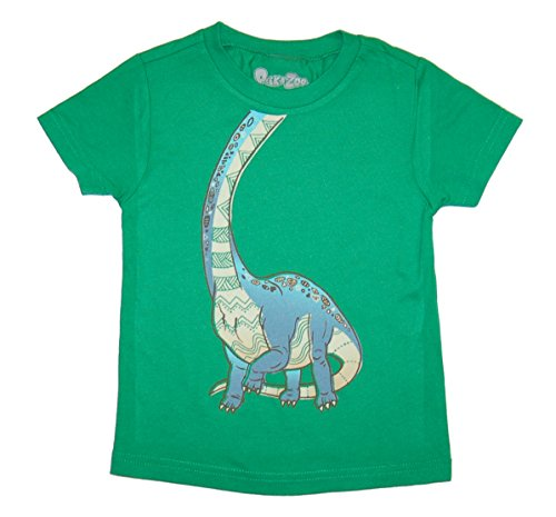 Peek-A-Zoo Infant Baby Become an Animal Short Sleeve T shirt - Brachiosaurus Kelly Green (12/18 -