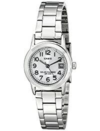 Casio Women's Easy-To-Read Solar Stainless Steel Watch (Model:LTP-S100D-7BVCF)