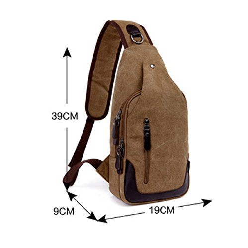 Canvas Bag Laidaye Multi Travel Leisure Chest Shoulder Messenger Men's Business Footwear 4 Backpack purpose Package rrT7qw5x
