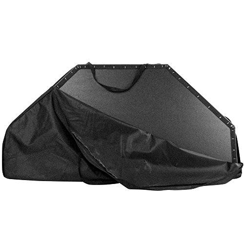 Nylon Poker Table Carrying Bag - Black Nylon Carrying Bag for Octangonal Folding Poker Table Tops