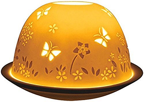 Welink Light-Glow Tealight Candle Holder, Butterflies - Butterfly Tealight Candle