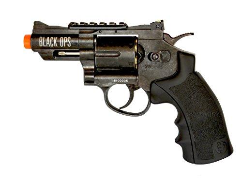 black ops exterminator full metal air revolver, 2.5 aged bb(Airsoft Gun)