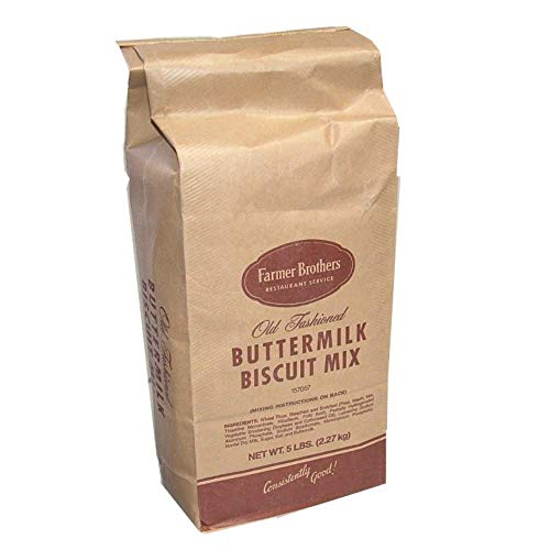 - Farmer Brothers Old Fashioned Buttermilk Biscuit Mix, 5 Pound Bag