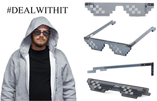 Deal With It Glasses - Thug Life, MLG - Meme Glasses