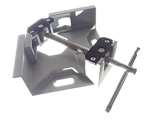 Tech Corner Clamp, Right Angle, 90 Degree, Adjustable Vise, Perfect for Woodworking, Cabinet Framing, Picture Frame, Aquarium, Workshop by Tech