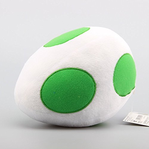 Super Mario Bros Yoshi Egg 8 Inch Toddler Stuffed Plush Kids Toys