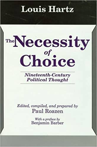 the necessity of choice nineteenth century political thought