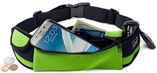 Transparent Green Waterproof Utility Box (Pifito Waist Running Belt Running Belt - Green)
