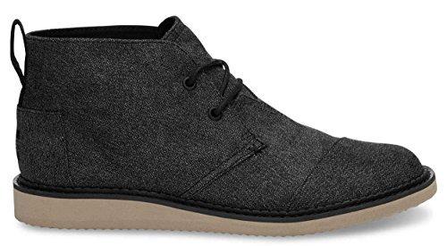 Toms - Mens Mateo Chukka Boots Charcoal Herringbone (9.5)