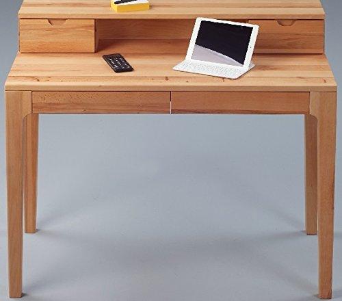 Moderner Sekretär Kernbuche Massiv Schreibtisch Mit Softeinzug