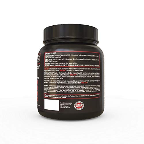 KRE EX: The Complete Pre-Workout Muscle Volumizer for Energy, Stamina, Strength, Size, and Pump (Blue Raspberry) by Titan Nutrition (Image #2)