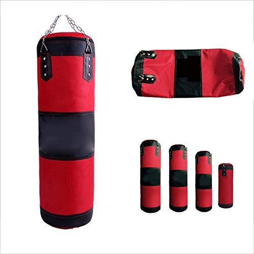 - Punching Bag Filled Wall Bracket Boxing Training MMA Hollow Sandbag, Stainless Steel Ceiling Hook, Oxford Cloth, Fitness Equipment,L