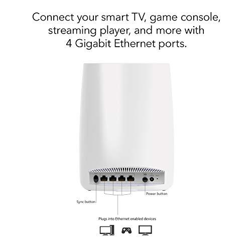 Netgear Orbi Ultra Performance Whole Home Mesh Wifi