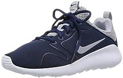 Nike Mens Kaishi 2.0 Running Shoe Midnight Navywolf Grey-white