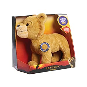 Disney Lion King Live Action Animated Roaring Simba, Multi-Color (22086)