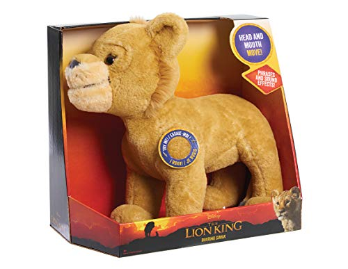 Disney The Lion King Roaring Simba Plush