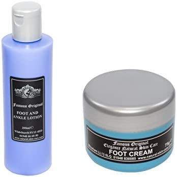 Original Foot Cream 75g and Original Foot & Ankle Lotion by Elegance Natural Skin Care by Elegance Natural Skin Care