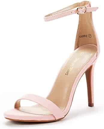 27285e141934b5 Shopping Pink - Heeled Sandals - Sandals - Shoes - Women - Clothing ...