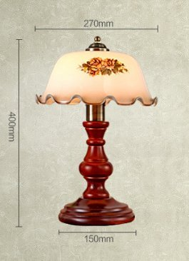 Gs Ly Lampe American Style Hotel Real Holz Schlafzimmer Bett Lampen