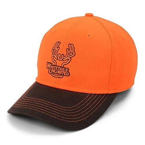 Whitetails Unlimited Blaze Orange Hat