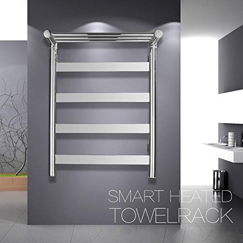 YUXIANG Towel Warmer Rack, 42W Energy Saving Stainless Steel Mirror Polished Drying -