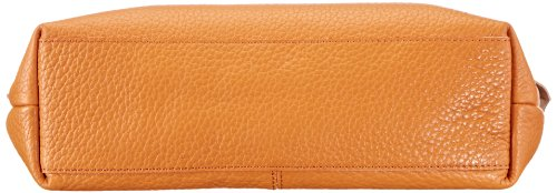 Bugatti Bags Bolso bandolera Kim Messenger Bag, Querformat groß Orange (orange 51)