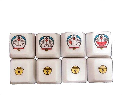 KBC Handu Cute Personality 8 Doraemon PBT Key Caps Set for