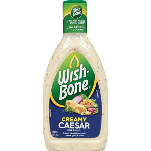 Wish-Bone Salad Dressing, Creamy Caesar, 15 Ounce
