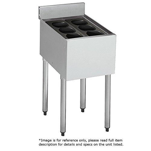 Krowne Metal 18-12IB 1800 Series Freestanding Underbar Bottle Storage Bin 12