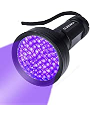 UV Flashlight Black Light UV Lights , 68 LED 395 NM Ultraviolet Blacklight Pet Urine Detector for Dog Cat Pet Urine, Dry Stains, Matching with Pet Odor Eliminator, for Home Hotel Camping Hunting Bed Bug Scorpions Mold Counterfeit Money Passport Leaks Cosmetic