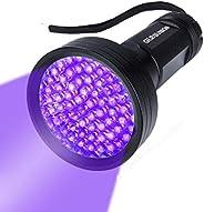 UV Flashlight Black Light UV Lights , 68 LED 395 NM Ultraviolet Blacklight Pet Urine Detector for Dog Cat Pet